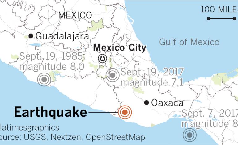 Stare de urgenţă în Mexic, după un cutremur cu magnitudinea de 7,2 pe scara Richter