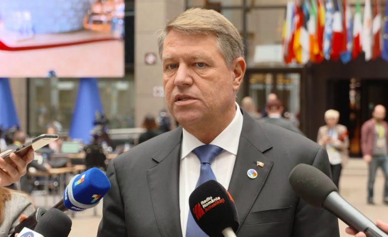 Klaus Iohannis: În chestiunea politicii externe, colaborarea nu este opţională, este obligatorie