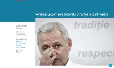 Associated Press, despre procesul lui Dragnea: Cel mai puternic politician din România se pregătește să se apere împotriva acuzațiilor de corupție