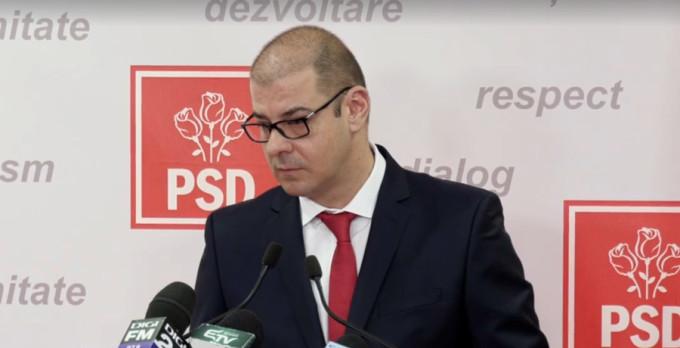 Adrian Dobre a demisionat din funcția de purtător de cuvânt al PSD