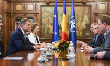 Klaus Iohannis, discuţii despre legile Justiţiei cu preşedintele ALDE Europa. Hans van Baalen: Sunt preocupat de protocoalele secrete