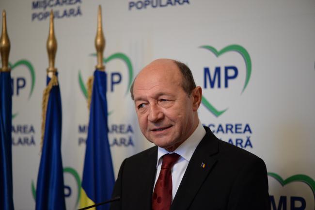 Traian Băsescu: Am atâtea de spus acestei ţări şi nu întotdeauna poţi să le spui din funcţia de preşedinte al unui partid