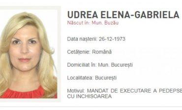 """Fotografia Elenei Udrea, publicată pe site-ul Poliției la """"Persoane urmărite internațional"""""""