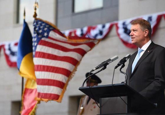 Klaus Iohannis: Avem nevoie ca UE şi SUA să fie cât mai apropiate posibil