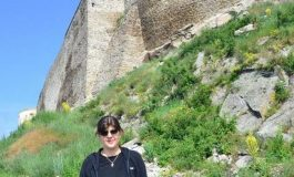 Laura Codruța Kovesi, printre turiști, la Cetatea Devei, în minivacanţa de 1 Iunie