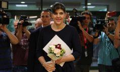 """VIDEO Laura Codruța Kovesi a primit premiul """"Speranța"""" din partea Societății Timișoara"""
