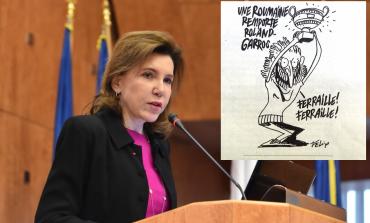 Ambasadoarea Franţei, despre caricatura din Charlie Hebdo: Libertatea de exprimare şi libertatea presei sunt principii fundamentale ale Republicii Franceze