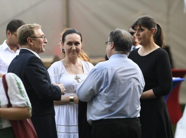 Laura Codruța Kovesi a participat la recepția oferită cu prilejul Zilei de naștere a Majestății sale Regina Elisabeta a II-a