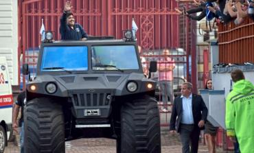 Maradona a preluat şefia clubului belarus Dinamo Brest
