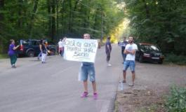 Protest la nunta fiului lui Dragnea, la Snagov