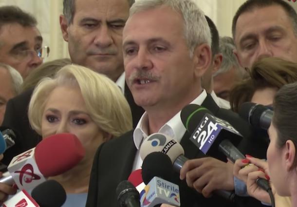 """Surse G4Media: """"Greii"""" PSD forțează plecarea lui Dragnea. O vor pe Dăncilă șef interimar până la congres"""